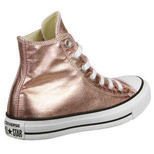 Converse CT AS HI Chuck Taylor All Star rose metallic weiß – Bild 2