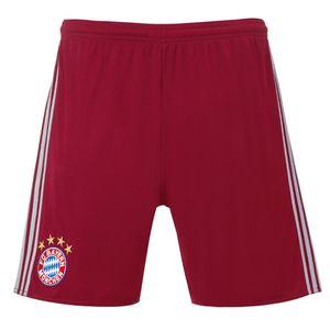adidas FC Bayern Champions League Short 16/17 Herren bordeaux  – Bild 1