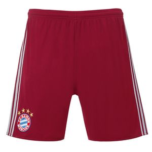 adidas FC Bayern Champions League Short 16/17 Kinder bordeaux