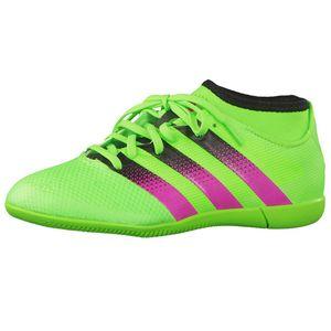 adidas ACE 16.3 PrimeMesh IN J Kinder Fußballschuh grün – Bild 1
