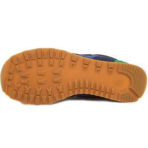 New Balance ML574NEA Herren Sneaker blau grün – Bild 3