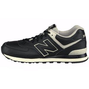 New Balance ML574LUC Herren Sneaker schwarz Leder – Bild 1