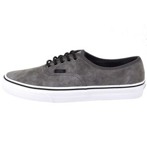 Vans Authentic Textured Suede Sneaker grau – Bild 1