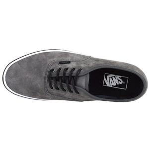 Vans Authentic Textured Suede Sneaker grau – Bild 3