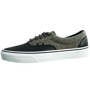 Vans Era Wool & Leather Herren Sneaker schwarz grau