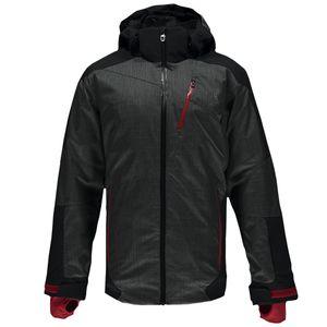Spyder Chambers Jacket Herren Skijacke grau schwarz