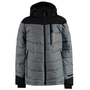 Brunotti Mantello JR Boys Jacket Kinder Skijacke grau – Bild 1