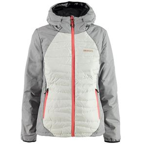 Brunotti Jisernia Women Ski Snowboardjacke light grey melee – Bild 1