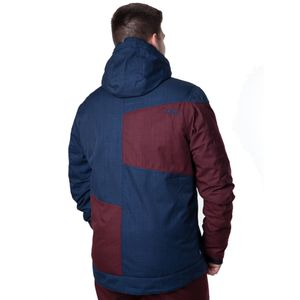 CNSRD Scotty Snowjacket Winter & Skijacke marine burgundy – Bild 2