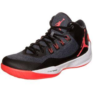 Nike Jordan Rising High 2 Basketball Sneaker schwarz rot – Bild 3