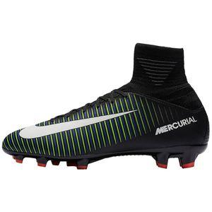 Nike JR Mercurial Superfly V FG Fußballschuhe schwarz grün – Bild 1