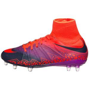 Nike JR Hypervenom Phantom II FG Fußballschuh lila orange – Bild 1