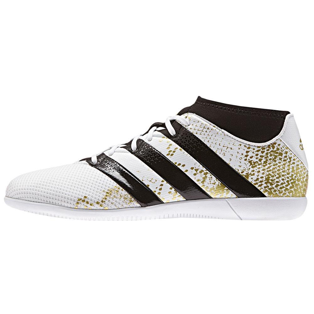 Adidas Ace 16 3 Primemesh In J Kinder Fu 223 Ballschuh Wei 223 Gold