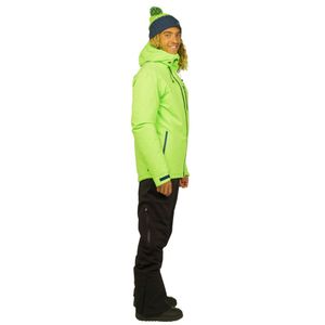 Protest Research 16 Men Ski- Snowboardjacke grün – Bild 3