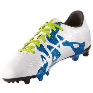 adidas X 15.3 FG/AG J Kinder Fußballschuh weiß – Bild 2