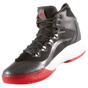 adidas D Rose Dominate IV Basketball schwarz rot – Bild 2