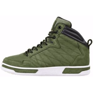 K1X h1top Herren High Top Sneaker grün weiß