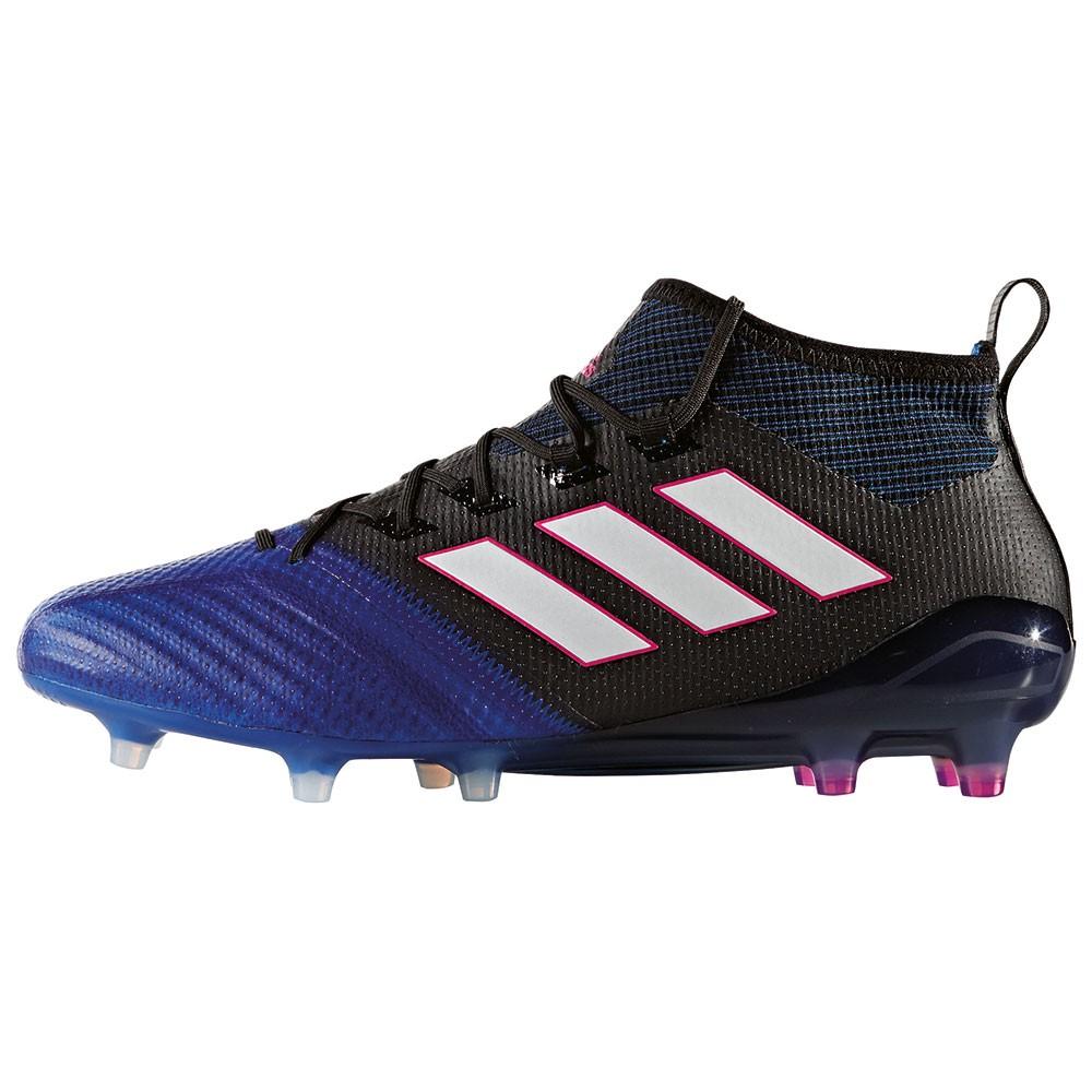 promo code 07013 7cb2a adidas ACE 17.1 Primeknit FG Herren Fußballschuh blau schwar