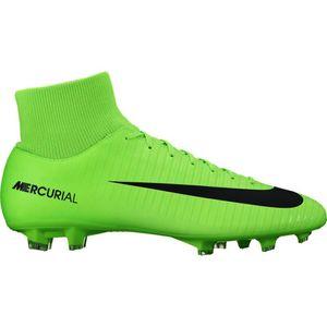 Nike JR Mercurial Victory VI DF FG Fussballschuh grün – Bild 2