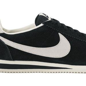 Nike Classic Cortez Leather SE Sneaker schwarz weiß – Bild 3