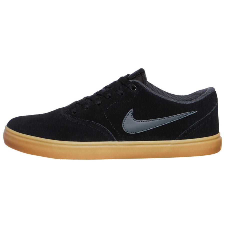 Nike SB Check Solar Herren Sneaker Skateschuh schwarz