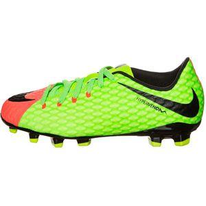 Nike JR Hypervenom Phelon III FG Fußballschuh electric green – Bild 1
