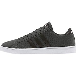 adidas neo Baseline Herren Sneaker grau weiß – Bild 1