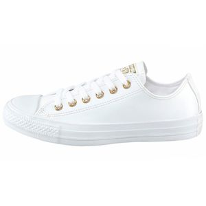 Converse CT OX Chuck Taylor All Star weiß gold  – Bild 1