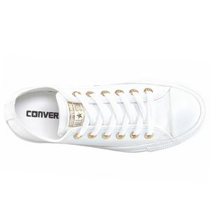 Converse CT OX Chuck Taylor All Star weiß gold  – Bild 2