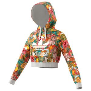 adidas Originals F Crop Hoodie multicolor  – Bild 3