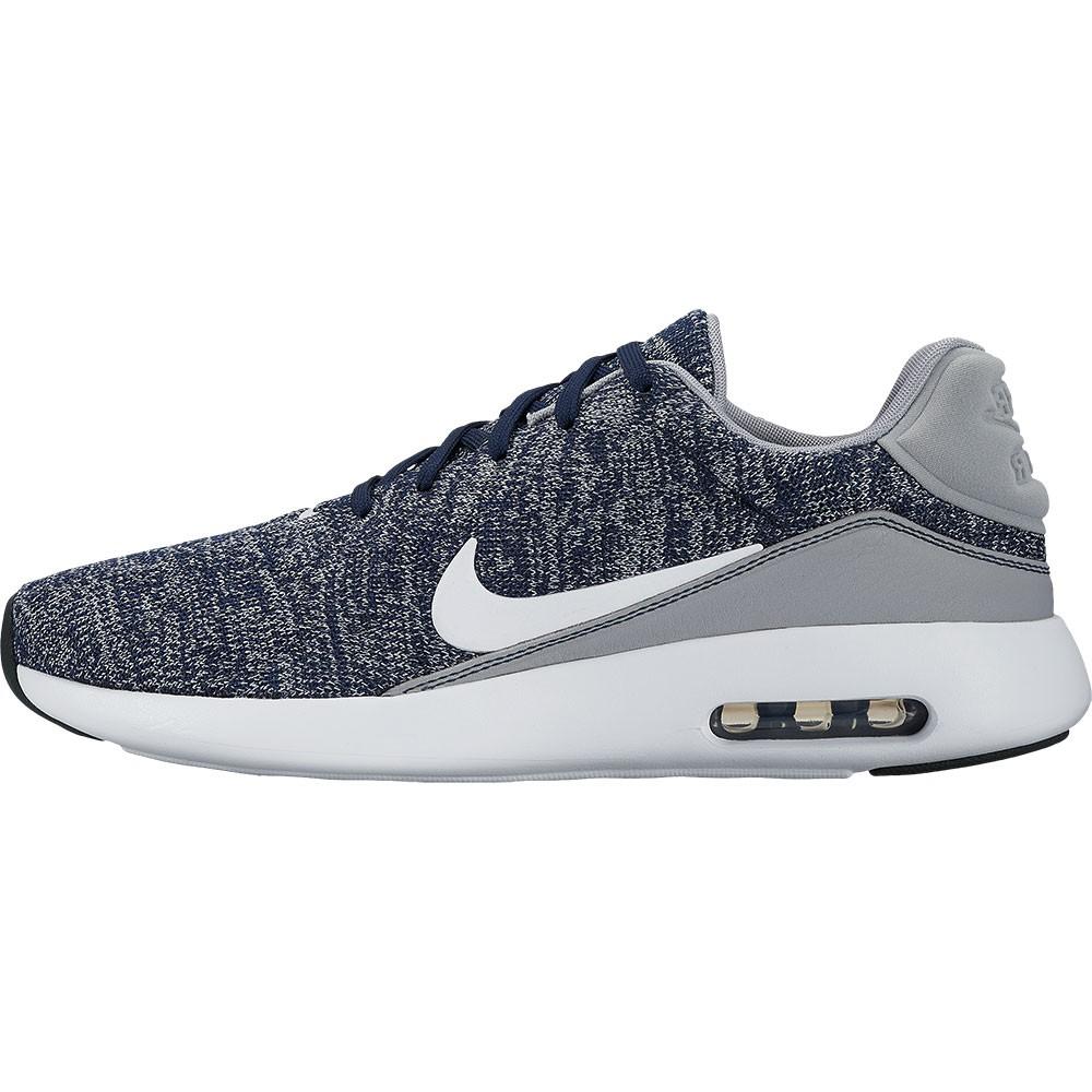 1587443ccb3458 Nike Air Max Modern Flyknit Sneaker blau weiß