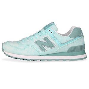 New Balance WL574SWB Damen Sneaker mint grün – Bild 1