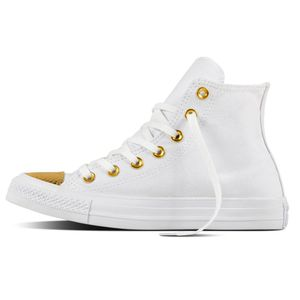 Converse CT AS HI Chuck Taylor All Star weiß gold  – Bild 1