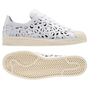 adidas Originals Superstar 80s Cut Out W Damen Sneaker weiß beige – Bild 3
