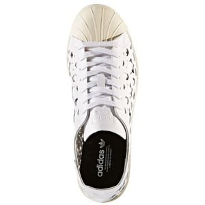 adidas Originals Superstar 80s Cut Out W Damen Sneaker weiß beige – Bild 4