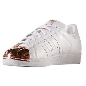 adidas Originals Superstar Metal Toe Sneaker weiß rose – Bild 4