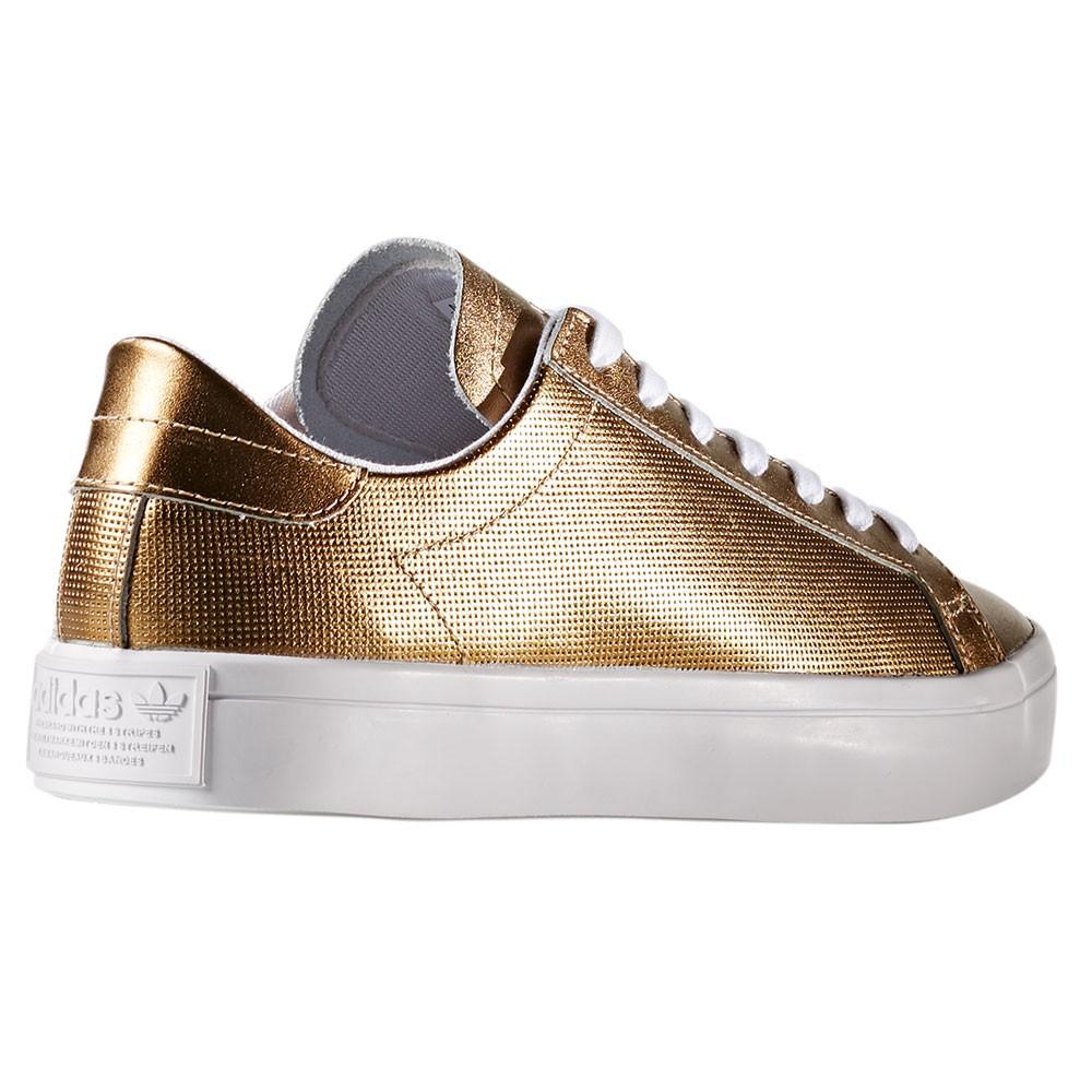 adidas Originals Court Vantage W Sneaker metallic gold