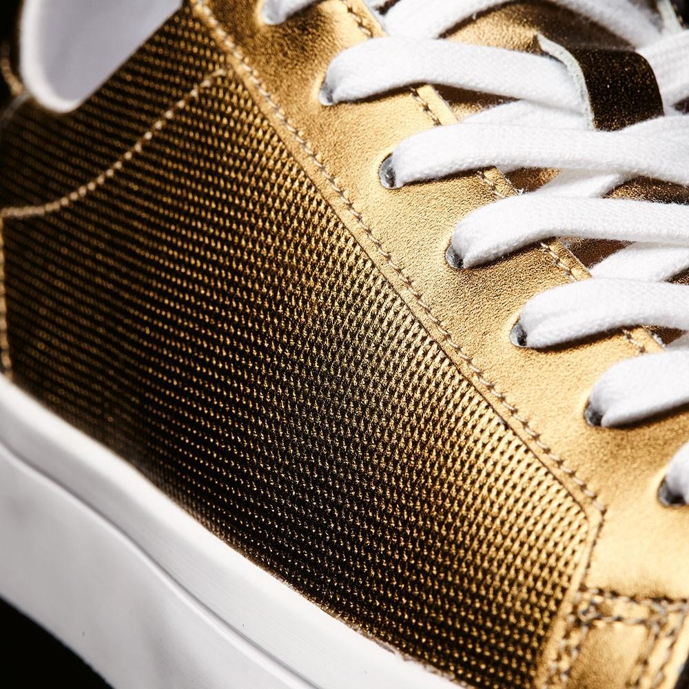new product ba8ba 8c6be adidas Originals Court Vantage W Sneaker metallic gold – Bild 8