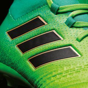 adidas ACE 17.1 FG J Kinder Fußballschuh grün – Bild 8