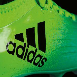 adidas X 16.1 FG J Kinder Nocken Fußballschuh grün – Bild 7