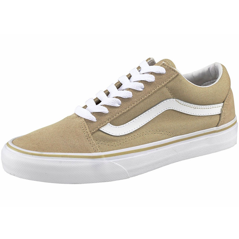 old skool vans beige