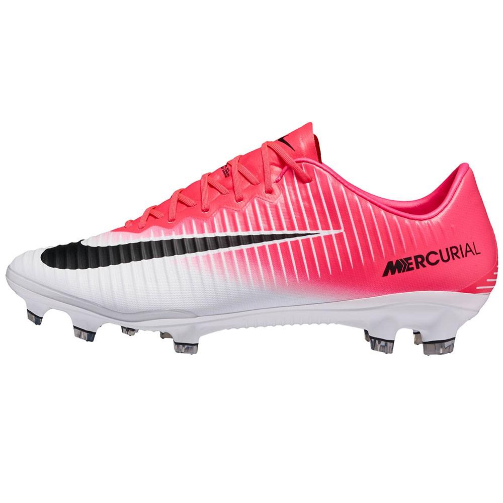 Nike Mercurial Vapor XI FG Fussballschuh pink weiß schwarz