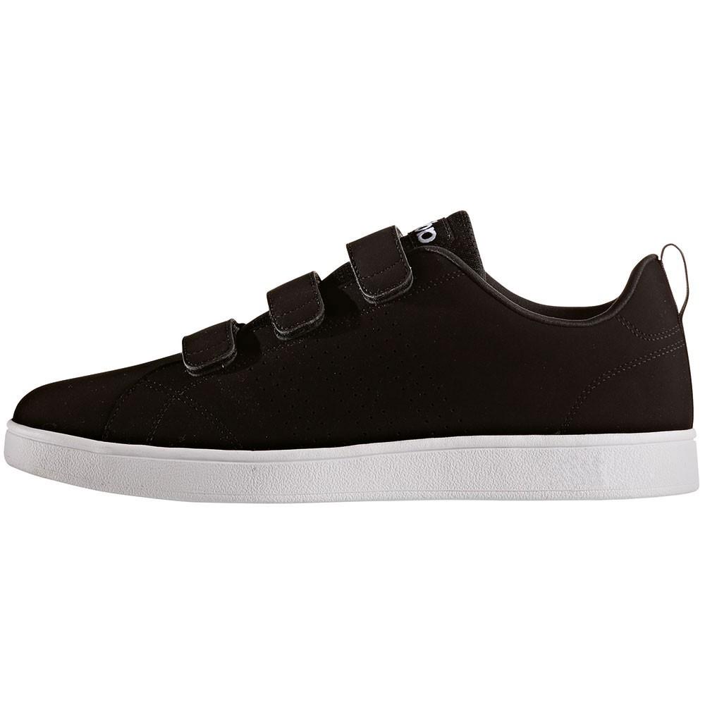 adidas neo VS Advantage Clean CMF Klett Sneaker schwarz 2bc7eda5bd