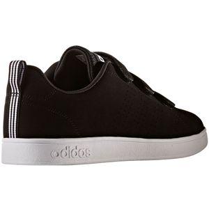 adidas neo VS Advantage Clean CMF Klett Sneaker schwarz – Bild 4