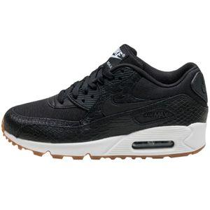 Nike WMNS Air Max 90 Premium Damen Sneaker schwarz