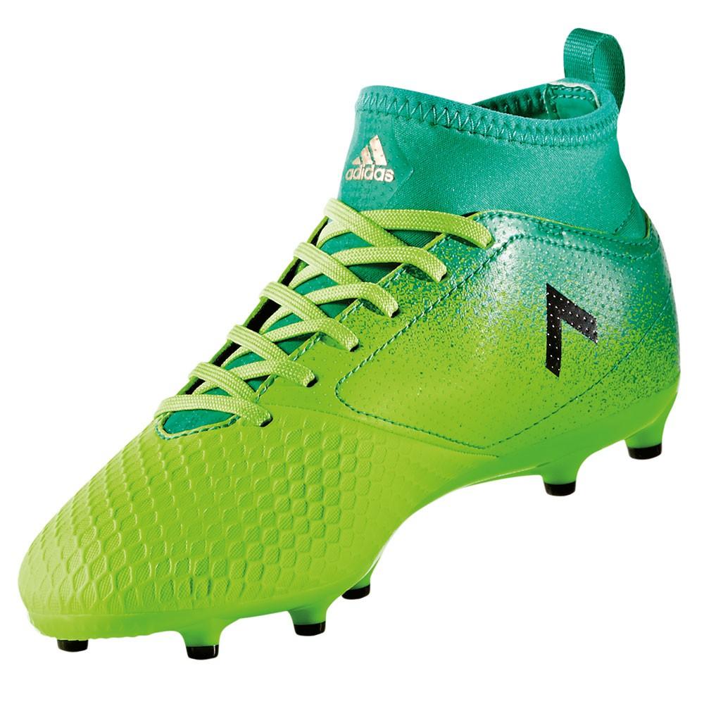 huge selection of bcb09 a434a adidas ACE 17.3 FG J Kinder Nocken Fußballschuh grün – Bild 3