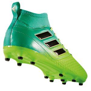 adidas ACE 17.3 FG J Kinder Nocken Fußballschuh grün – Bild 4