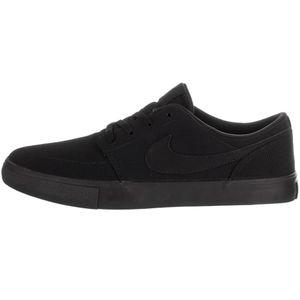 Nike SB Portmore II Solar CNVS Sneaker Skateschuh schwarz