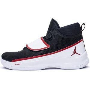 Nike Jordan Super.Fly 5 Po Basketball schwarz weiß rot – Bild 1