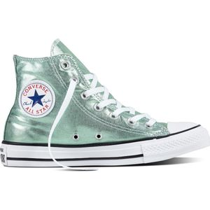 Converse CT AS HI Chuck Taylor All Star metallic grün – Bild 2